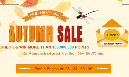 Pre Heat Autumn Sale | Check and Win Mor