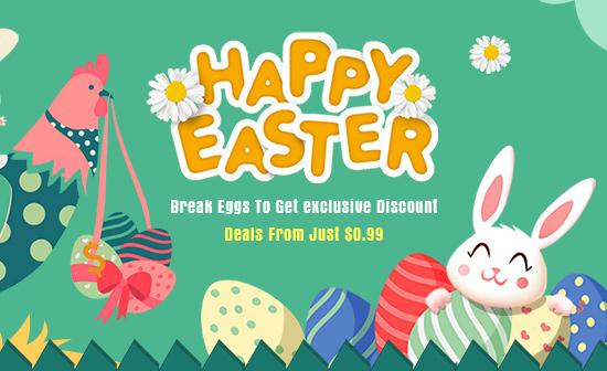 Happy Easter Break Eggs to Get Discount Just $0.99