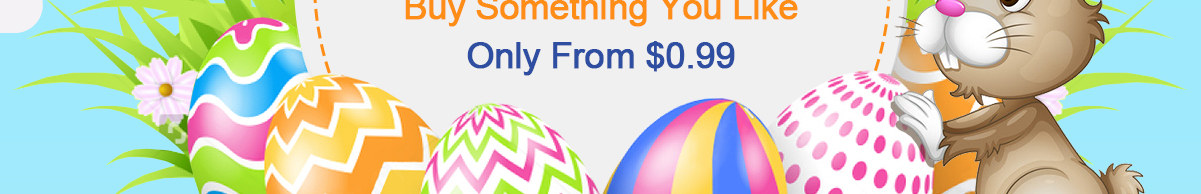 Easter Gifts   Buy Something You Like Only from $0.99