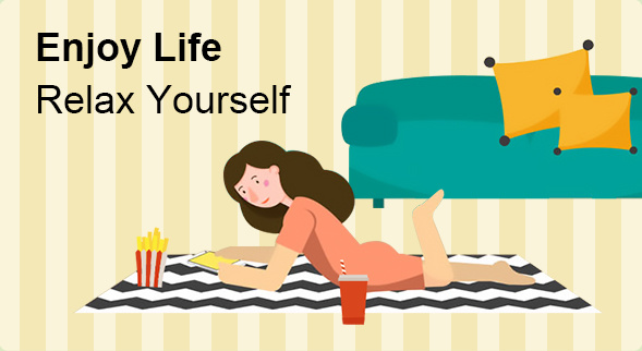 Enjoy Life Relax Yourself