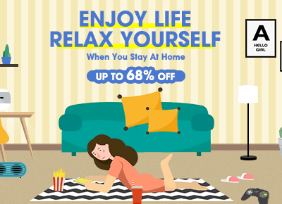 Enjoy Life At Home: Get Up To 68% OFF @T