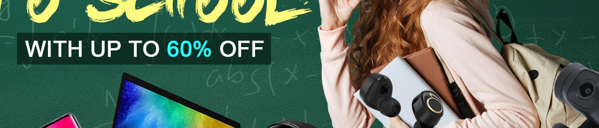 Back To School With Up To 60% Off