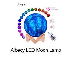 Aibecy LED Moon Lamp