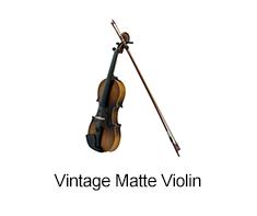 Vintage Matte Violin