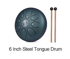 6 Inch Steel Tongue Drum