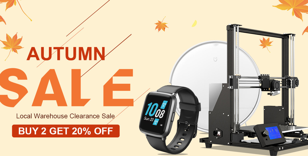 Autumn Sale Local Warehouse Clearance Sale BUY 2 GET 10% OFF