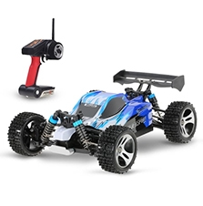 Wltoys A959 Upgraded Version 1/18 Scale 2.4G Remote Control 4WD Electric RTR Off-Road Buggy RC Car