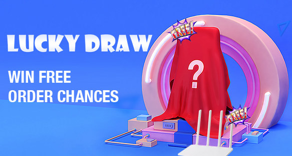 Participate in Lucky Draw Game,Free Order Chance waiting for