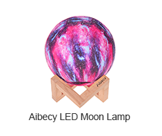 Aibecy LED Moon Lamp