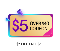 $5 OFF Over $40