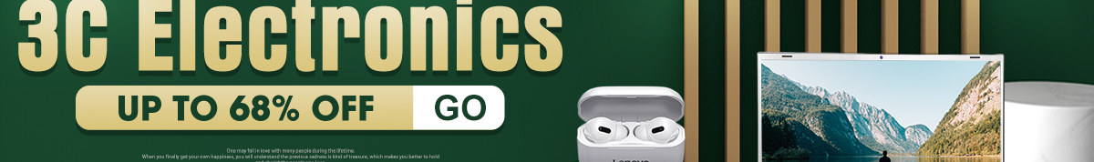 3C Electronics Sale | Up to 68% Off More Than You Can Imagine UP TO 50% OFF