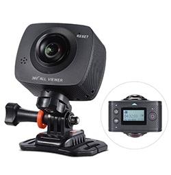 Andoer Dual-Objektiv 360-Grad-Panorama-Kamera
