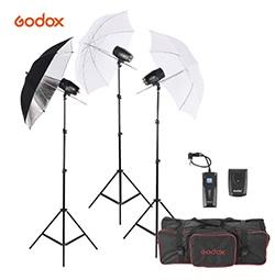 Godox M180-A Mini Studio Foto Blitzlicht Beleuchtung Kit