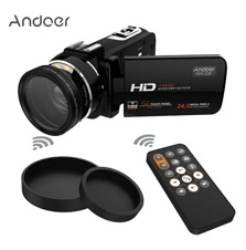 Full HD 37mm 0.45× Wide Angle Lens Digital Zoom Camcorder
