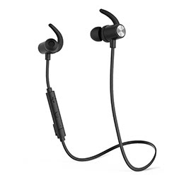 Magnetic Wireless Stereo Sports Headphone
