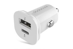 25.5W Mini Dual USB Car Charger