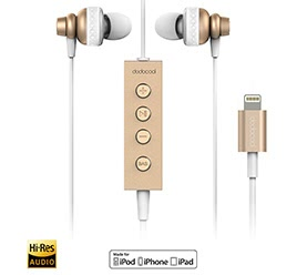 Hi-Res Earphone with Lightning Connector