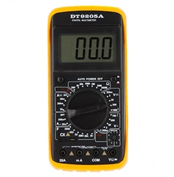 DT9205A Digitales Handmultimeter