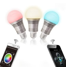 Lixada 7.5W Bluetooth Smart Color Changing Bulb