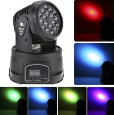 80W RGB LED Wash Effect Moving Head Light