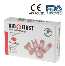 100PCS Adhesive Bandages 5 combinations CE& FDA Approved