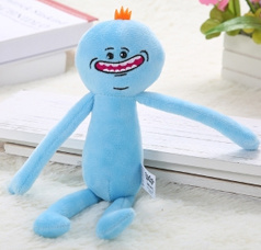 25CM Mr MeeSeeks Rick and Morty Plush Toy