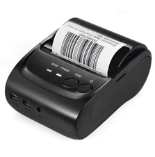 Mini Portable Bluetooth USB Thermal Printer