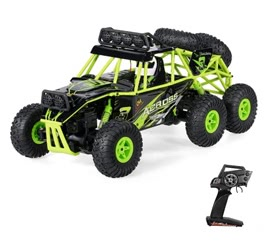 Wltoys 18628 1/18 2.4G 6WD Electric Off-Road Rock Crawler Climbing RC Buggy