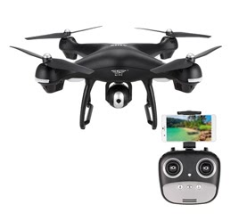 SJ R/C S70W 2.4GHz 720P Camera Wifi FPV Follow Me Mode GPS Drone
