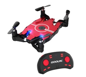 GoolRC T49 WIFI FPV 720P HD Camera Foldable G-sensor Pocket Drone