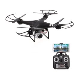 HR SH5HD1080P Camera One Key Return Wifi FPV Drone  RC Quadcopter