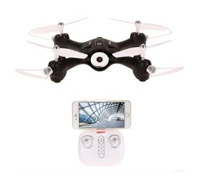 Syma X23W 0.3MP Camera Wifi FPV Headless Mode Altitude Hold G-sensor Drone