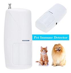 Drahtloser Haustier-Immunbewegungs-PIR-Detektor 10KG