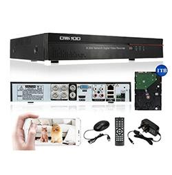 OWSOO 4CH Kanal Cloud Netzwerk DVR