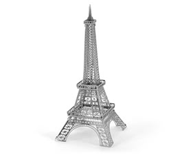 3D Puzzles - Eiffel Tower 3D Metal Model - DIY Building Jigsaw Educational Toys