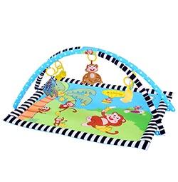 Ametoys Baby Spielmatte weich gepolstert Kissen Teppich