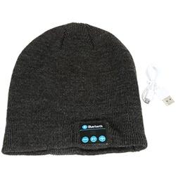 Bluetooth Musik Hut mit Stereo Kopfhörer