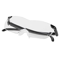5X 160 Degree Magnifying Eyeglasses WIth Storage Bag