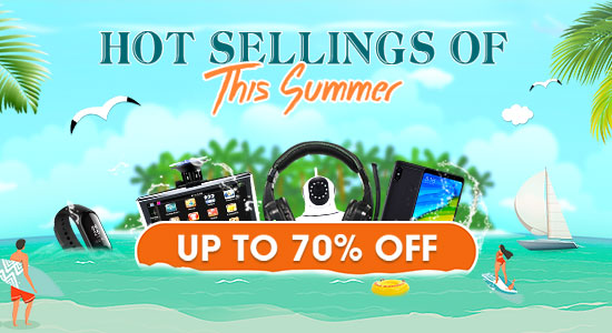 Hot Selling Deals of Summer 2018, Save Up To 70% Off | Tomtop